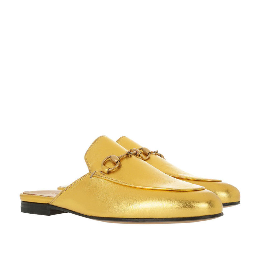 Gucci Loafers & Slippers - Princetown Horsebit Loafer Oro Vecchio - in gold - Loafers & Slippers for ladies