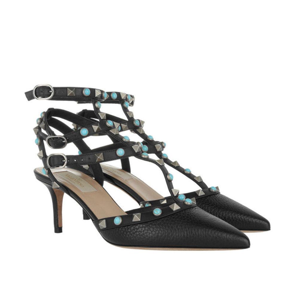 Valentino Pumps - Rockstud Pumps Calfskin Black - in black - Pumps for ladies