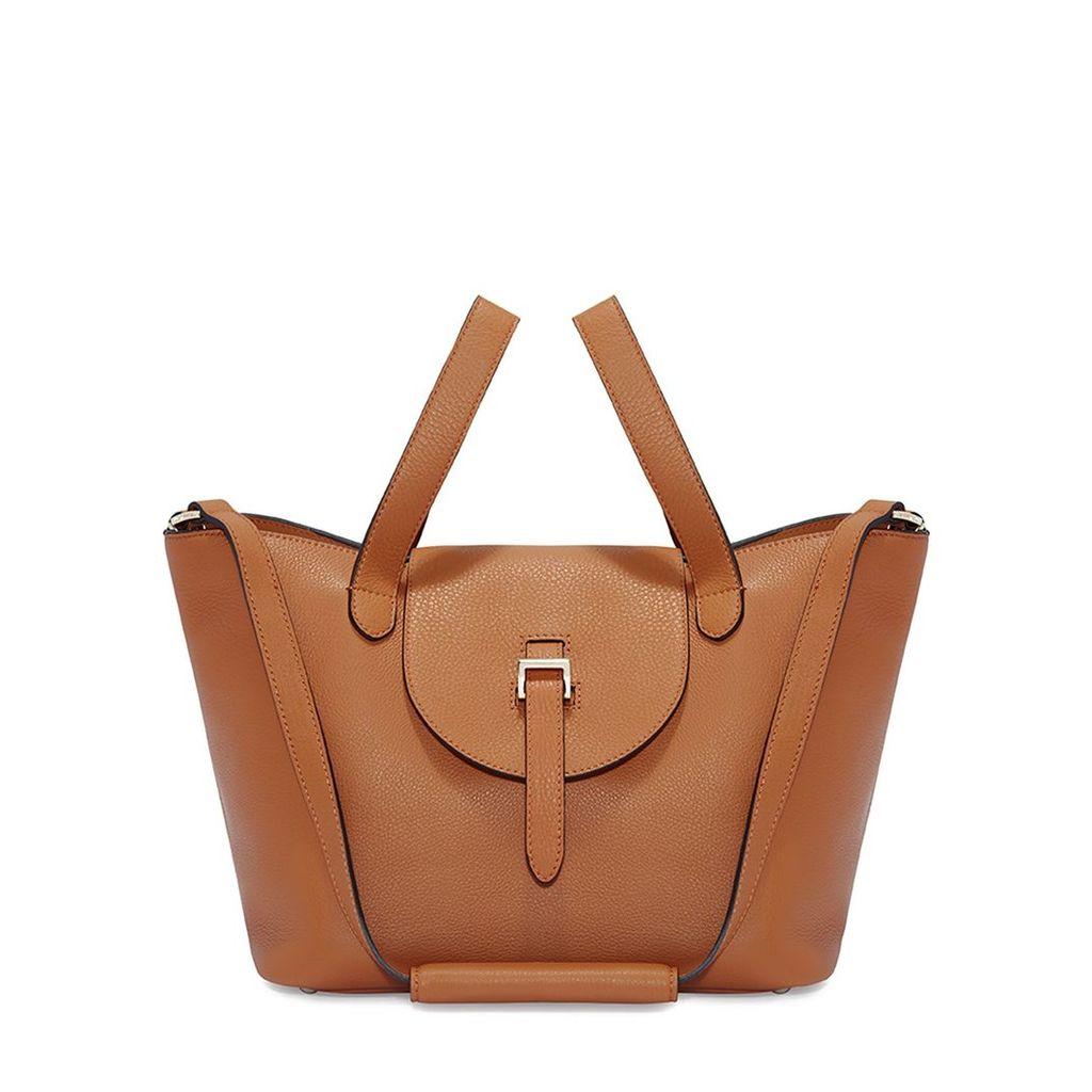 Thela Medium Tan Tote Bag