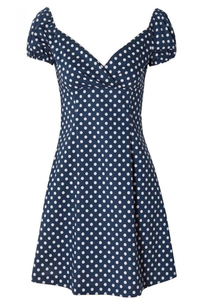Heidi Dress Polka Dot