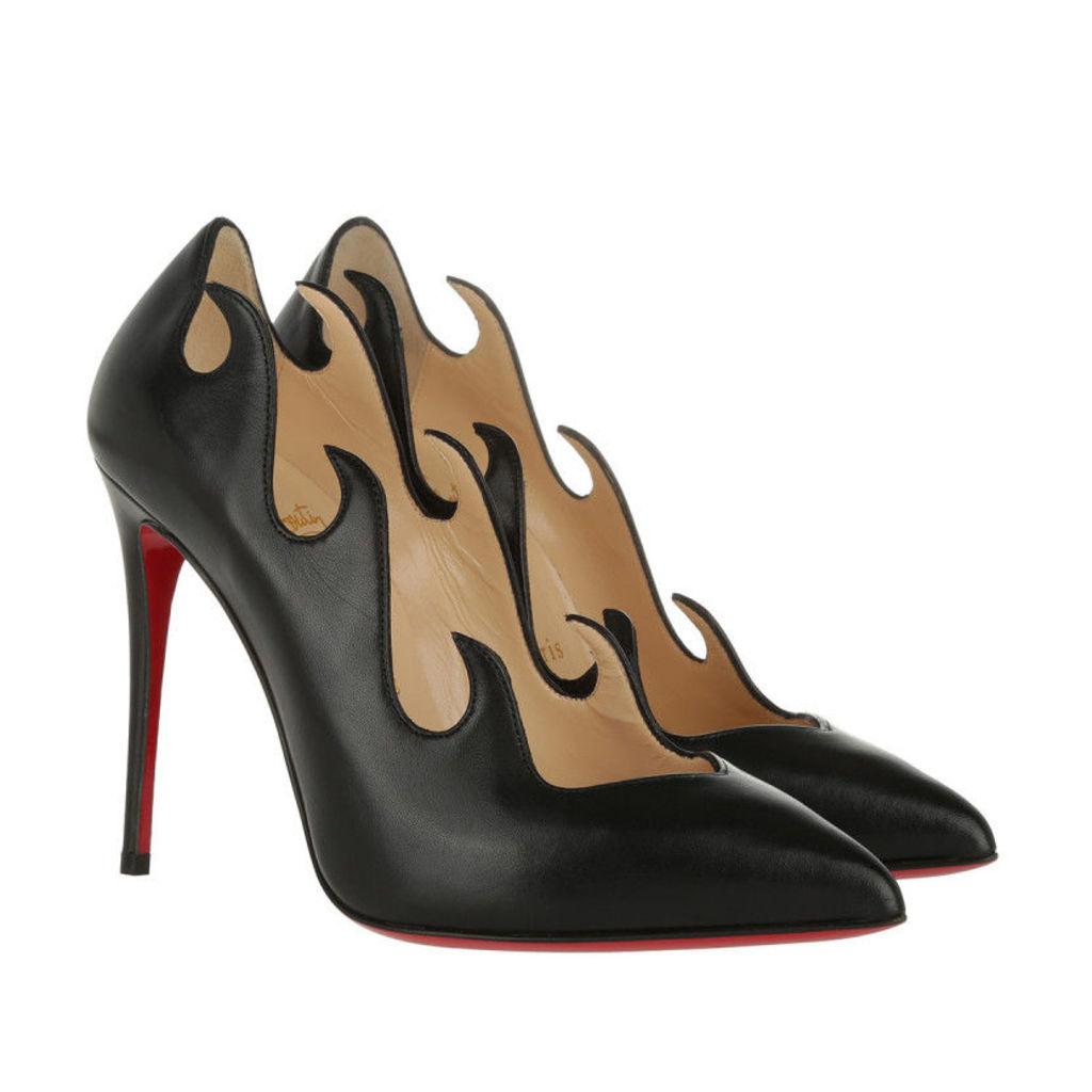 Christian Louboutin Pumps - Pumps Olavague 100 Shiny Black - in black - Pumps for ladies