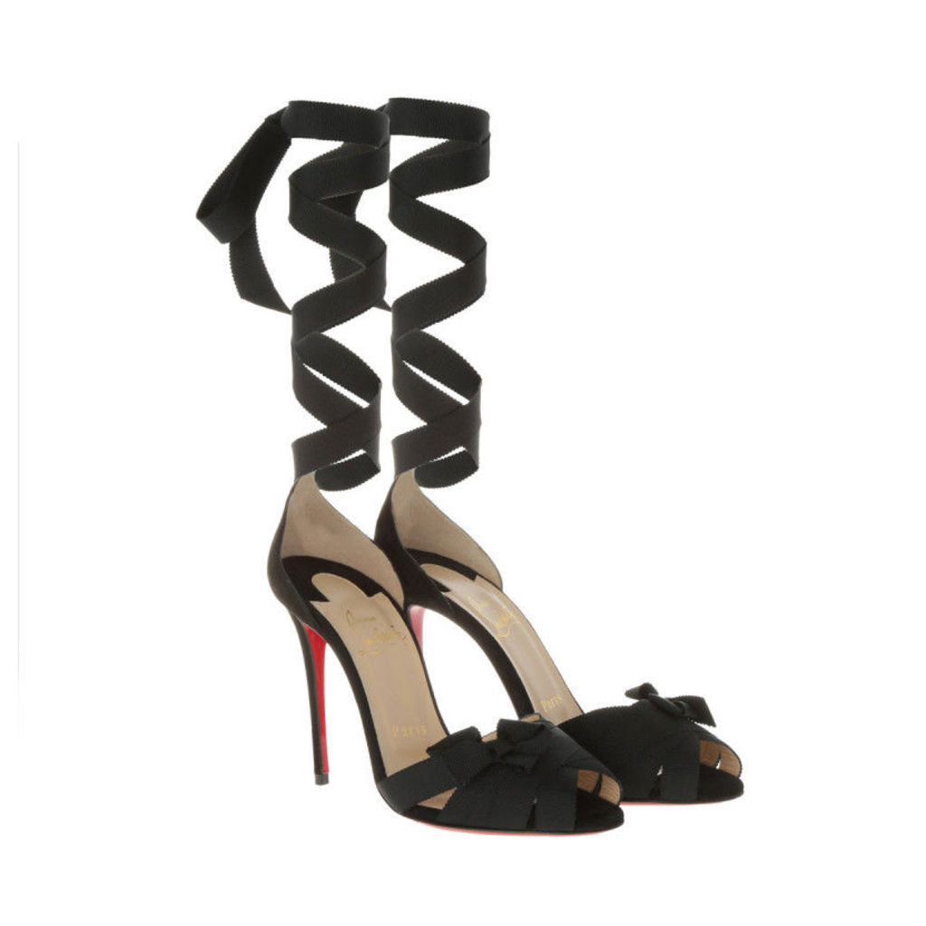 Christian Louboutin Pumps - Pumps Christeriva 100 Suede Black - in black - Pumps for ladies