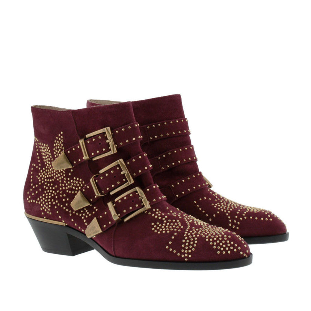 Chloé Boots & Booties - Susanna Boots Suede Absolute Red - in red - Boots & Booties for ladies
