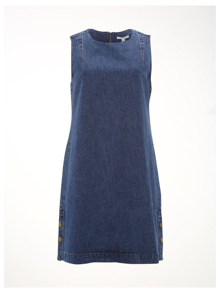 Seren Denim Pinny Dress