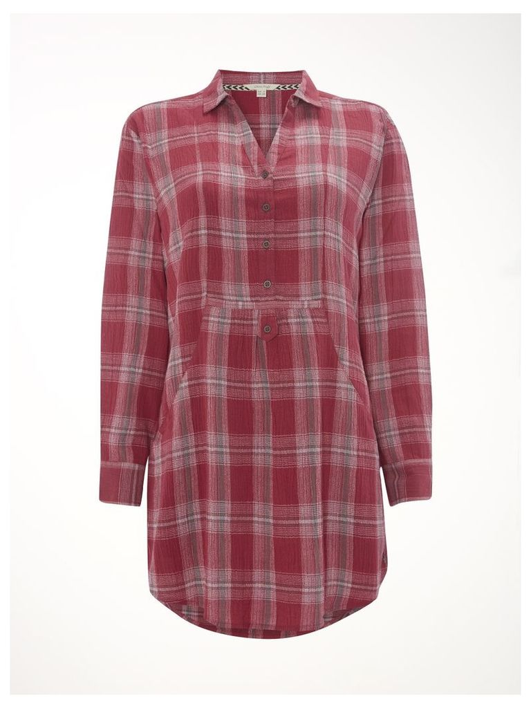 Inca Check Shirt Tunic