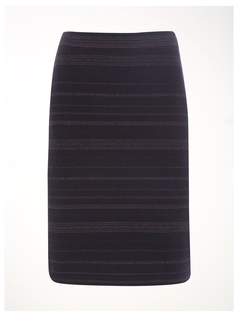 Ahote Stripe Jersey Skirt