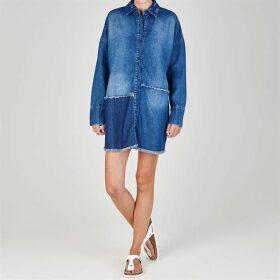 Firetrap Blackseal Denim Overshirt - Blue