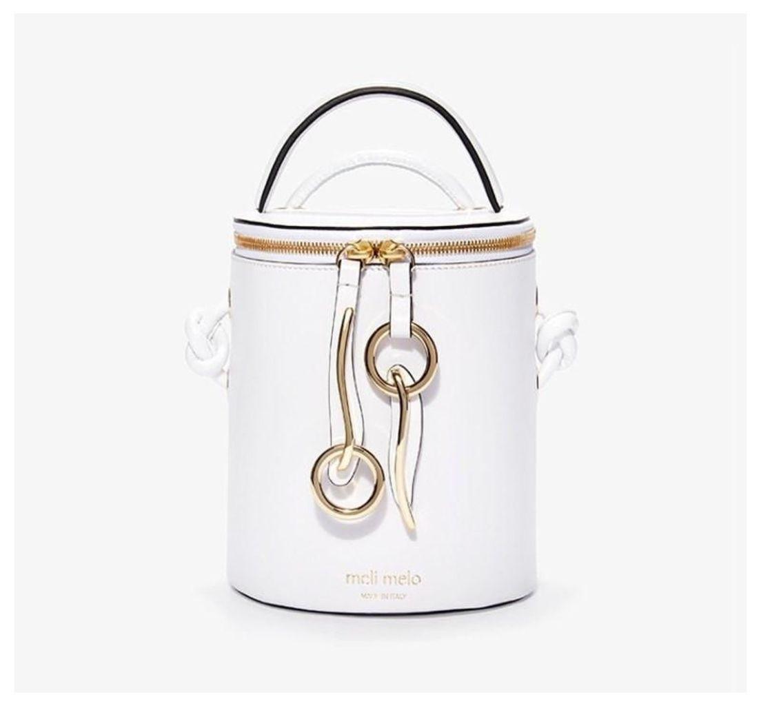 OP Hue Severine Bucket Bag Bianca White