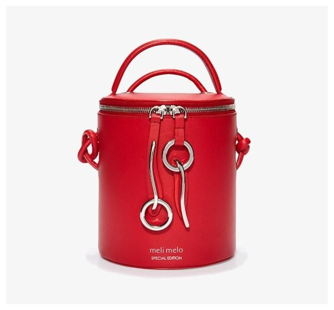 Severine Bucket Bag Poppy Red