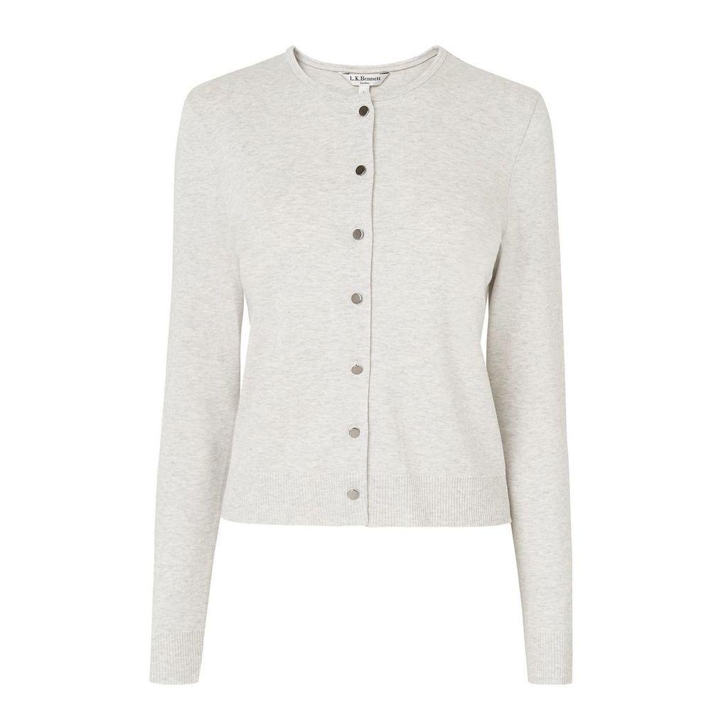 Andie Grey Cotton Cardigan
