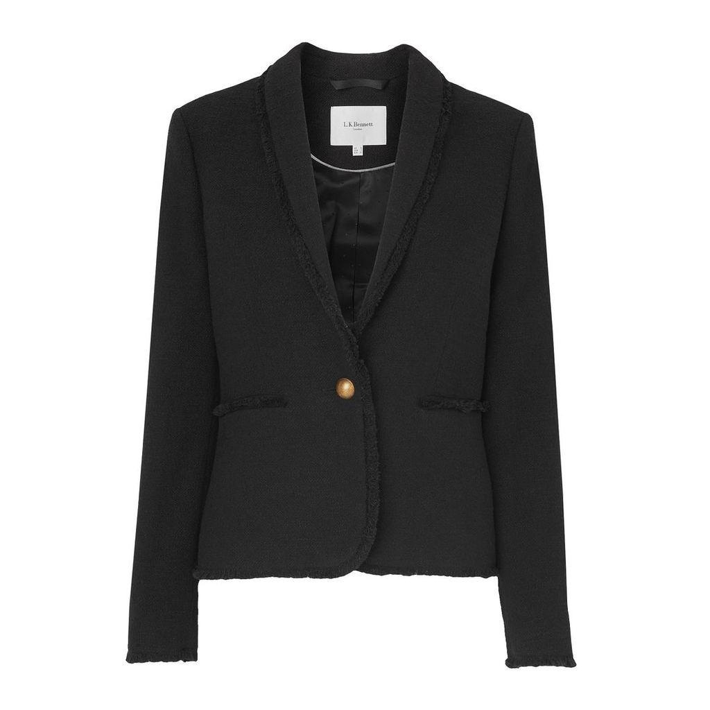 Shippa Black Tweed Jacket