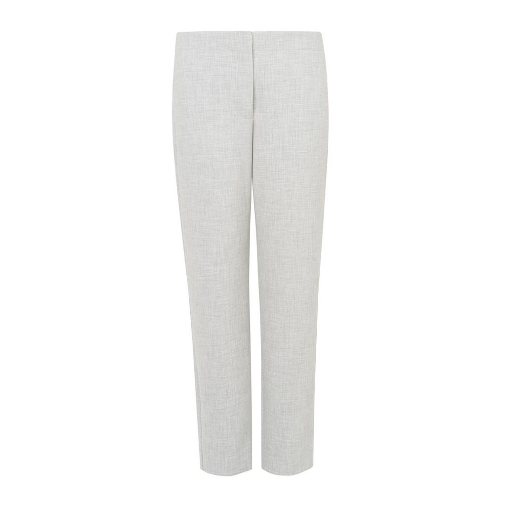 Lize Grey Melange Trousers
