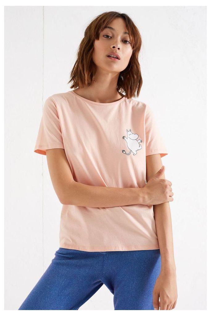 NEW Blush Pink Moomin Classic Cotton Tee