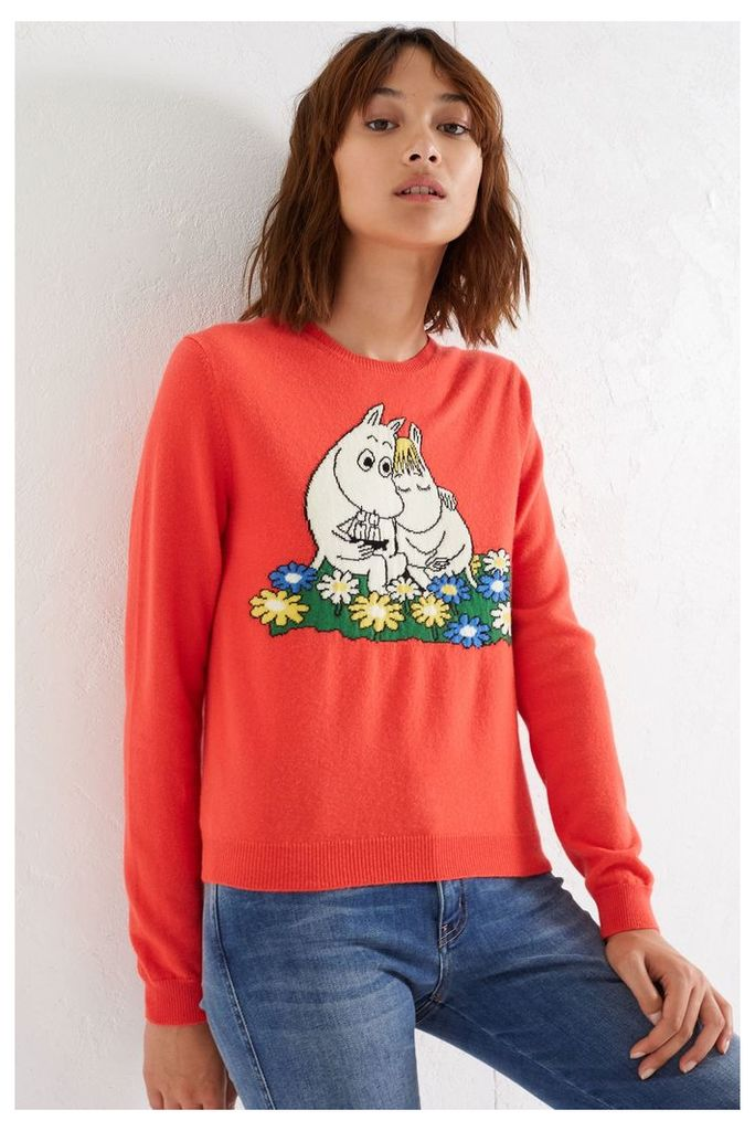 NEW Coral Moomin & Snork Maiden Cashmere Sweater