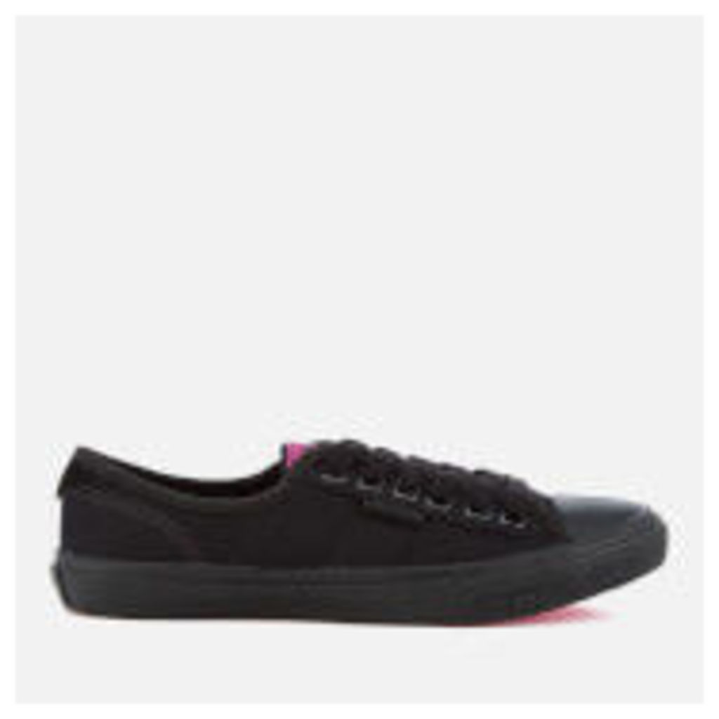 Superdry Women's Low Pro Trainers - Black/Black