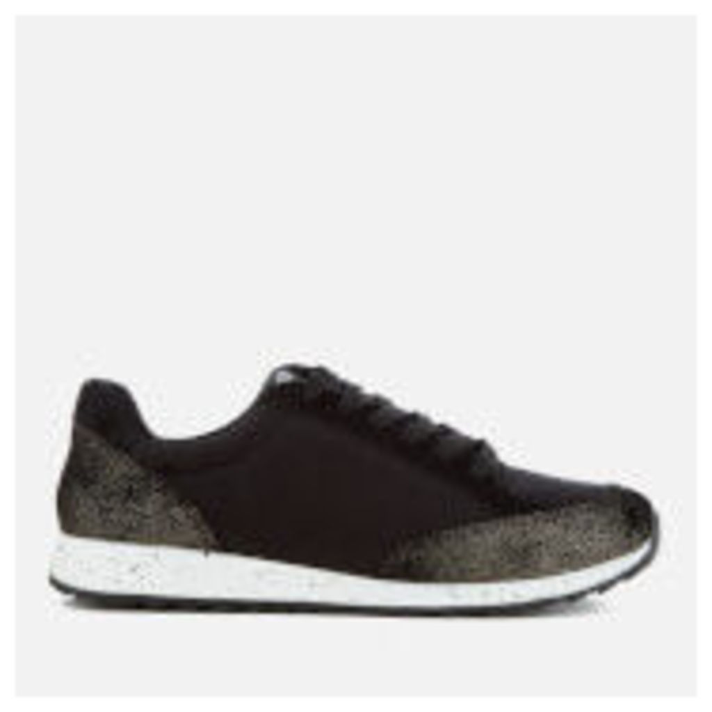 Superdry Women's Core Runner Trainers - Antique Gold/Black