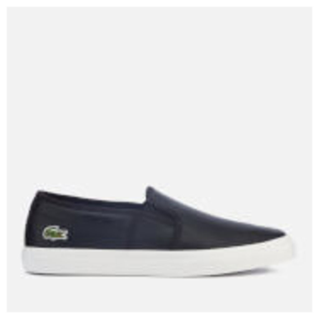 Lacoste Women's Gazon BL 1 Slip-On Trainers - Black