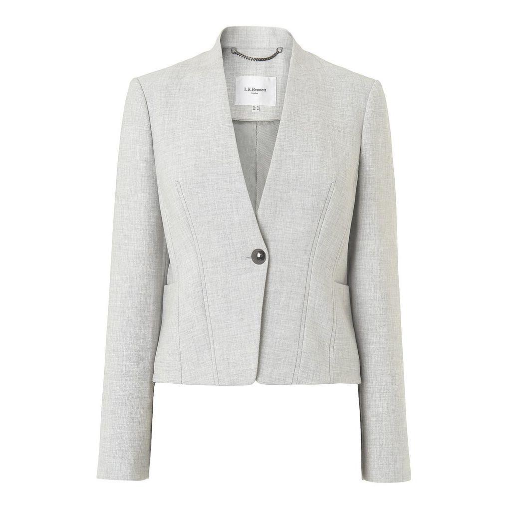 Lize Grey Melange Jacket