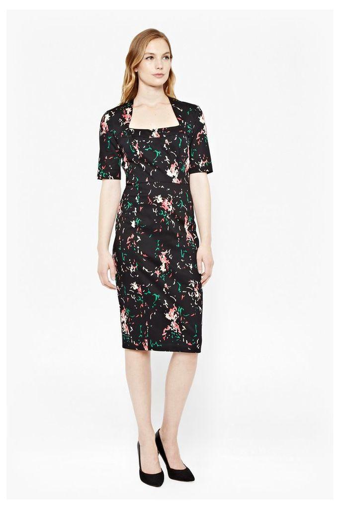 Atomic Printed Dress