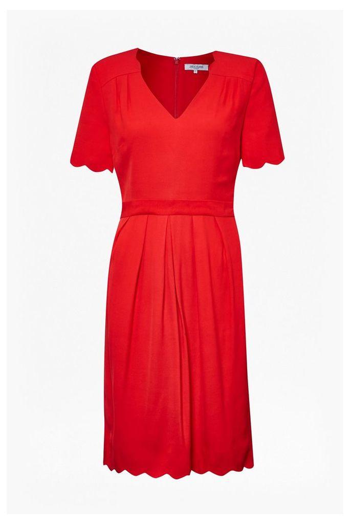 Sadie Scallop Tea Dress