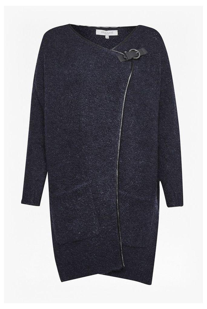 Banging Buckled Wool Cardigan