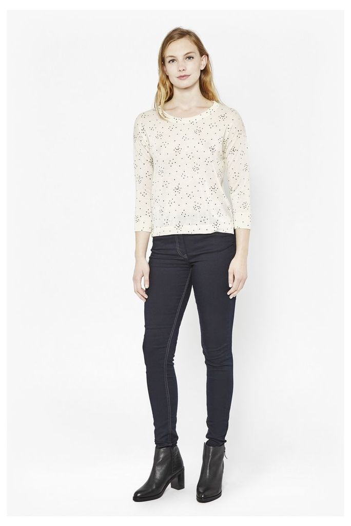 Starry Knitted Jumper
