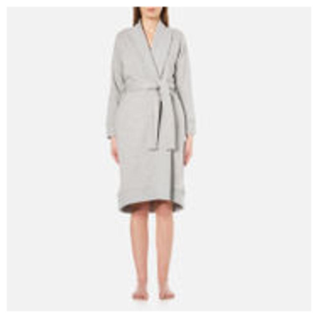 UGG Women's Karoline Double Knit Fleece - Seal Heather - XS - Grey