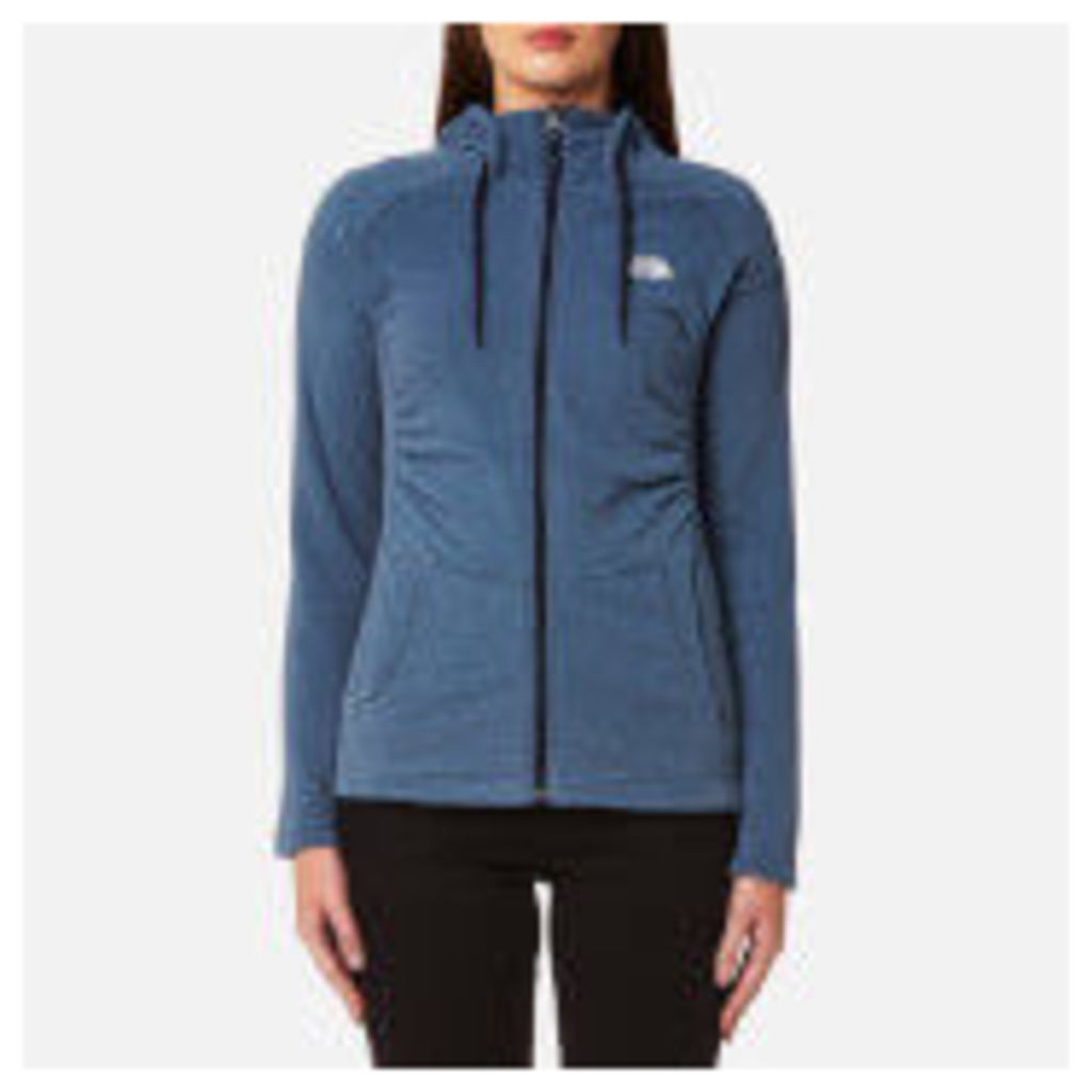 The North Face Women's Mezzaluna Full Zip Hoody - Provincial Blue Stripe