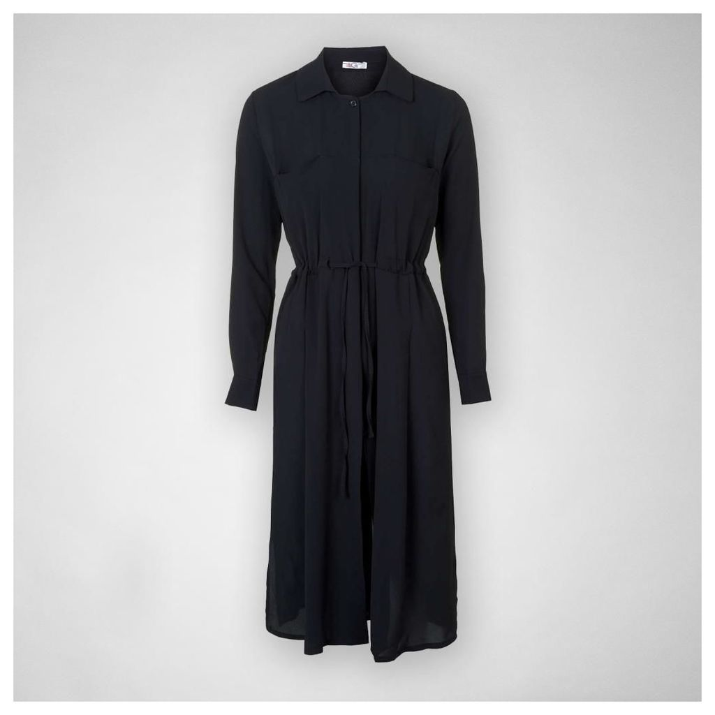 WG5425 Chiffon Shirt Jkt Dress
