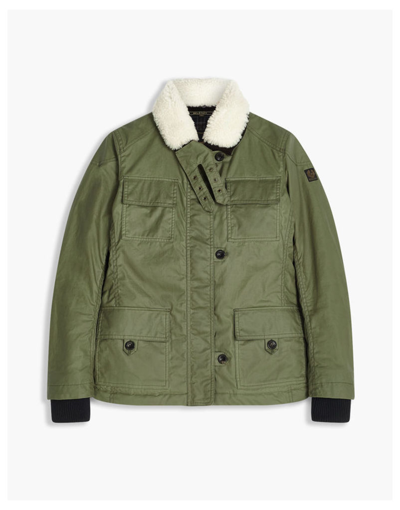 Belstaff Davit Field Jacket Green