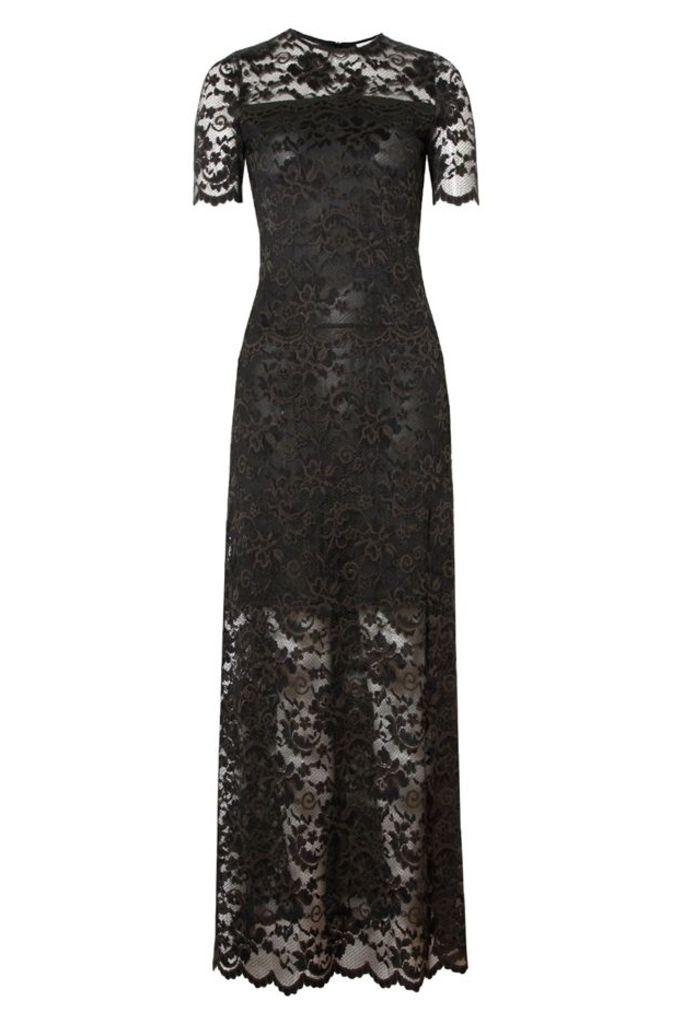 Flynn Lace Maxi Dress Rosin
