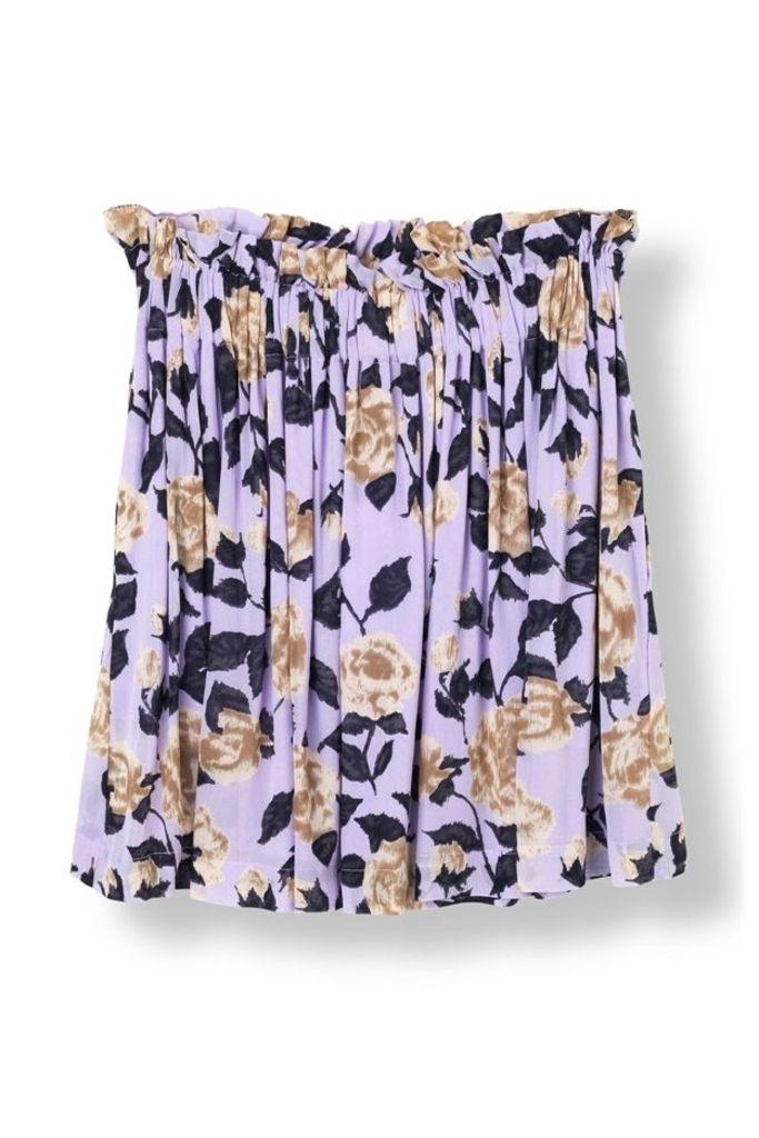 Carlton Georgette Skirt Pastel Lilac