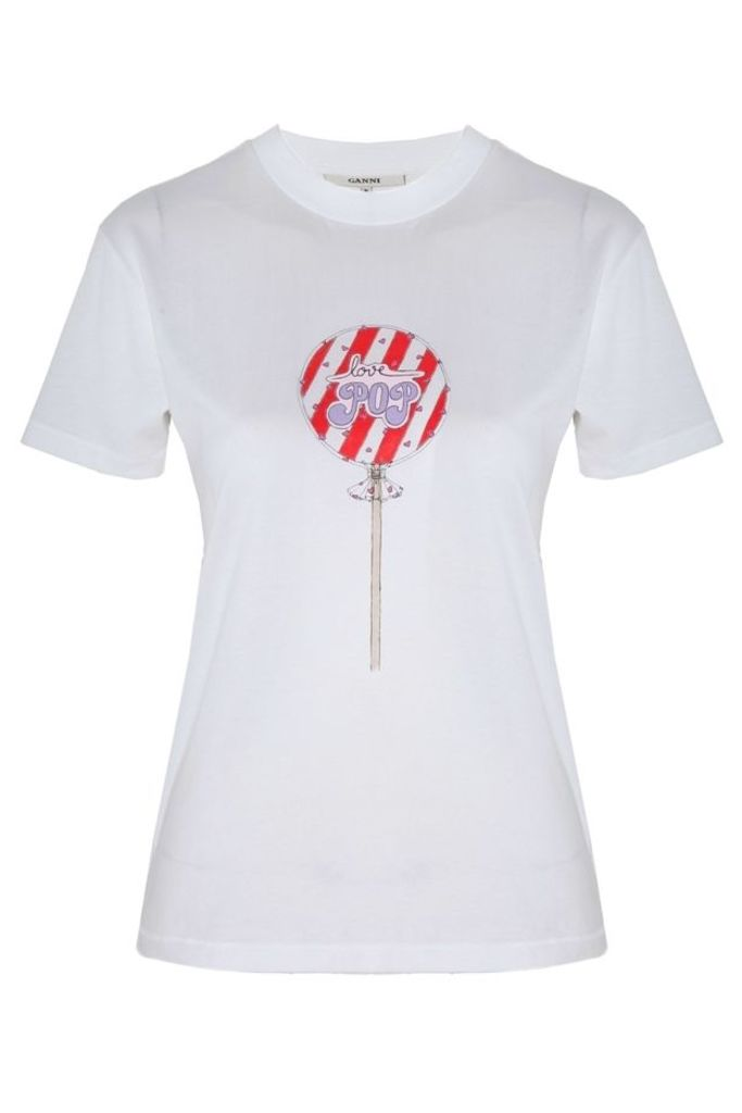 Lollipop T Shirt Bright White