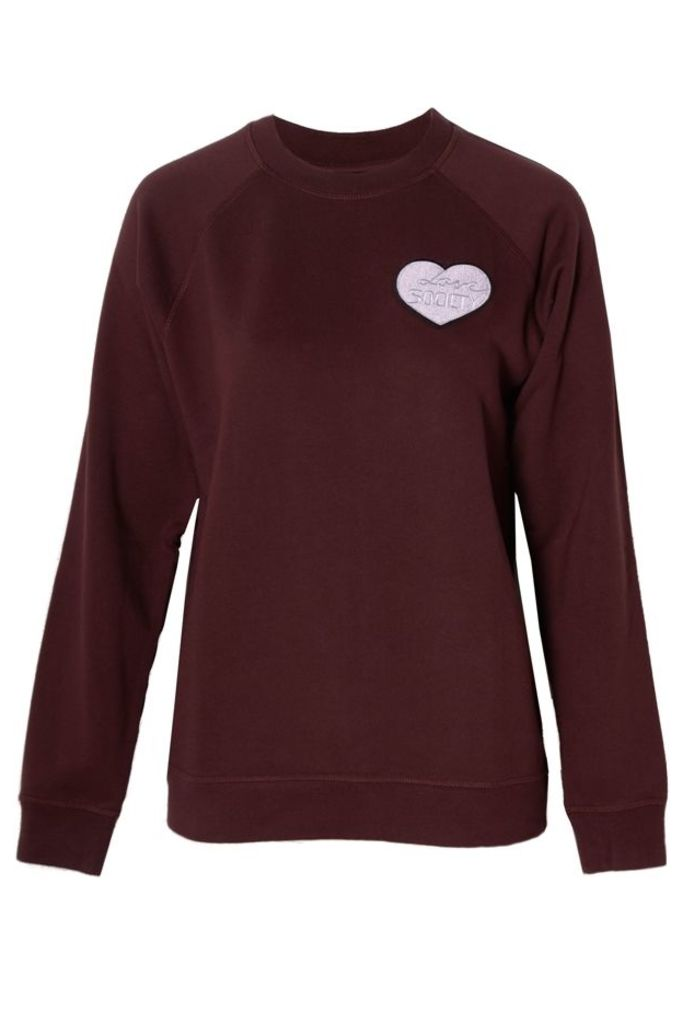 Love Society Sweatshirt Decadent Chocolate