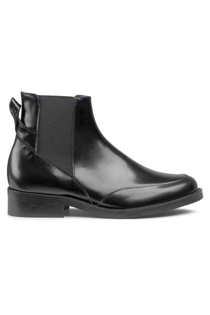 Violet Ankle Boots Black