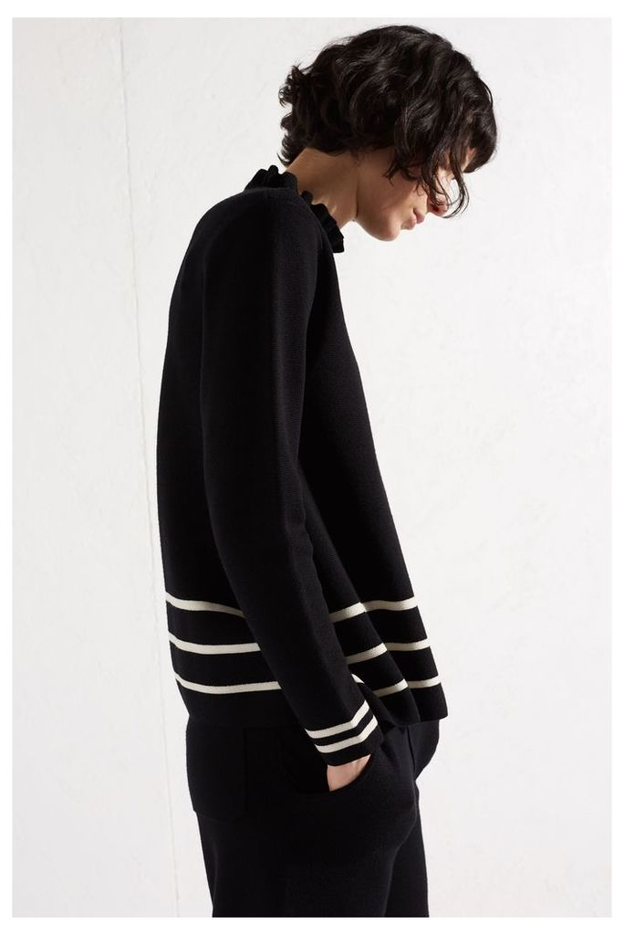 NEW Black A-Line Milano Knit Sweater