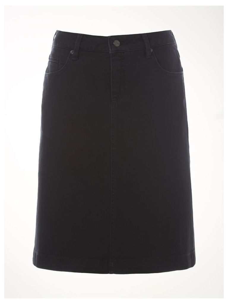 Laurie Denim A-line Skirt