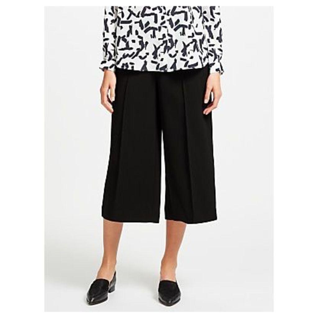 Kin Twill Wide Leg Cropped Trousers