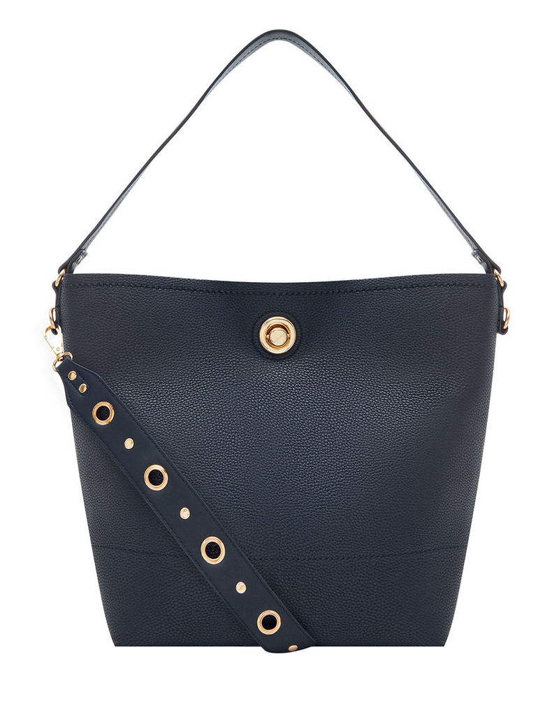 Eyelet Bucket Bag