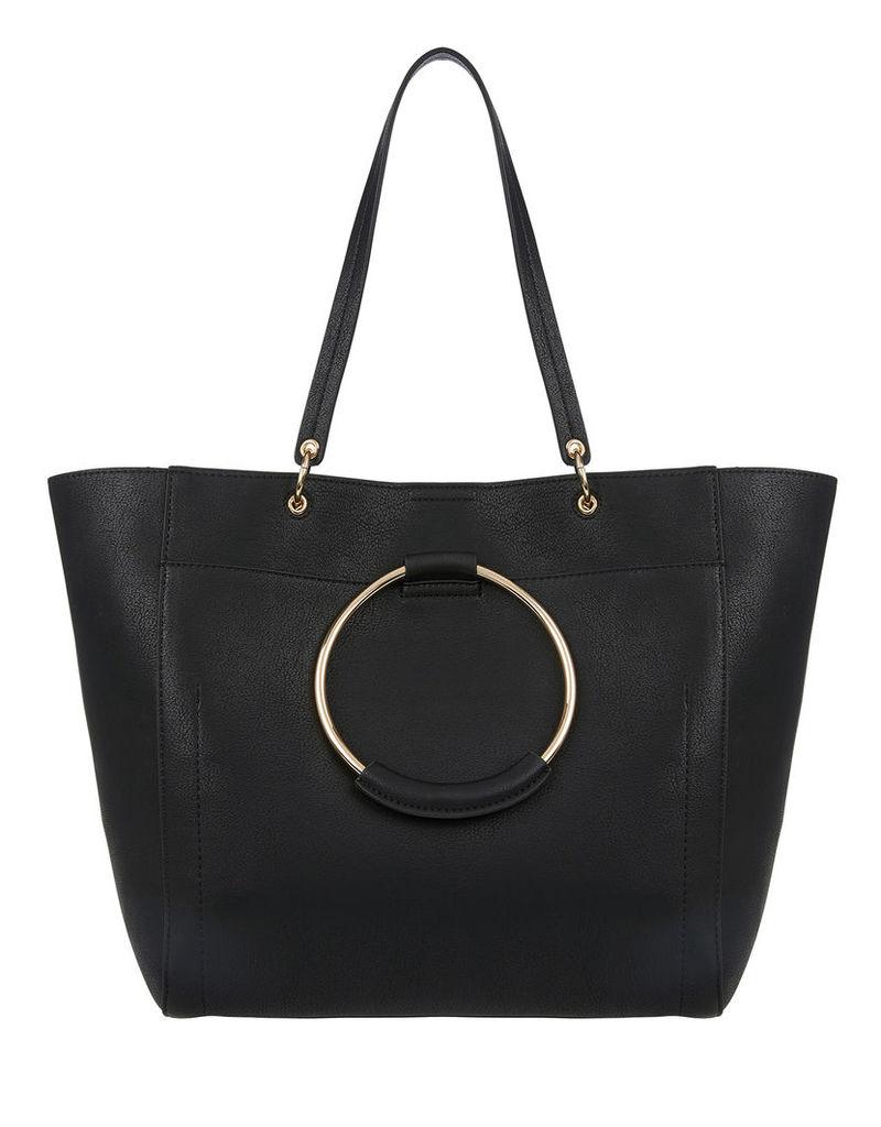 Metal Ring Tote Bag