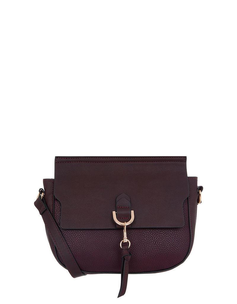 Avalon Ring Detail Saddle Bag