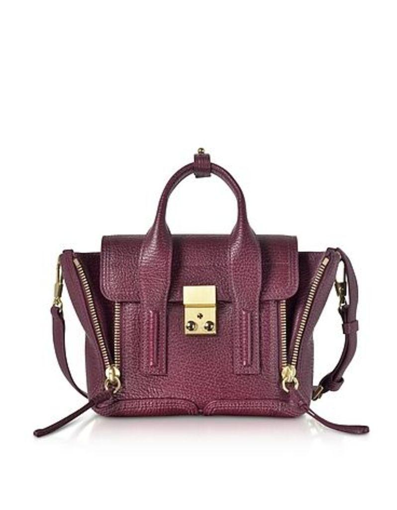 3.1 Phillip Lim - Aubergine Pashli Mini Satchel Bag