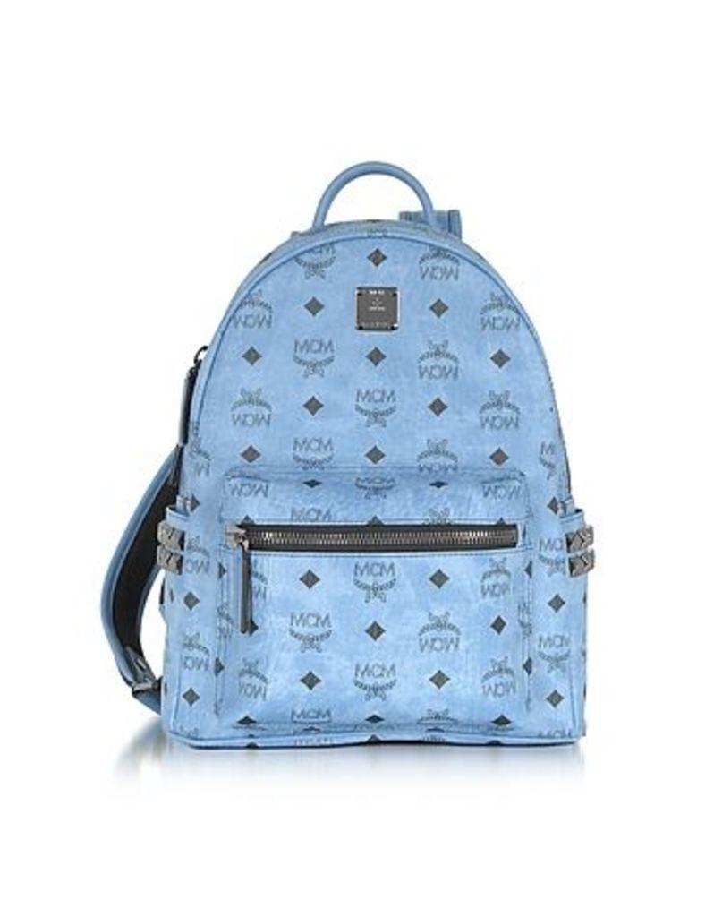 MCM - Denim Small Stark Backpack