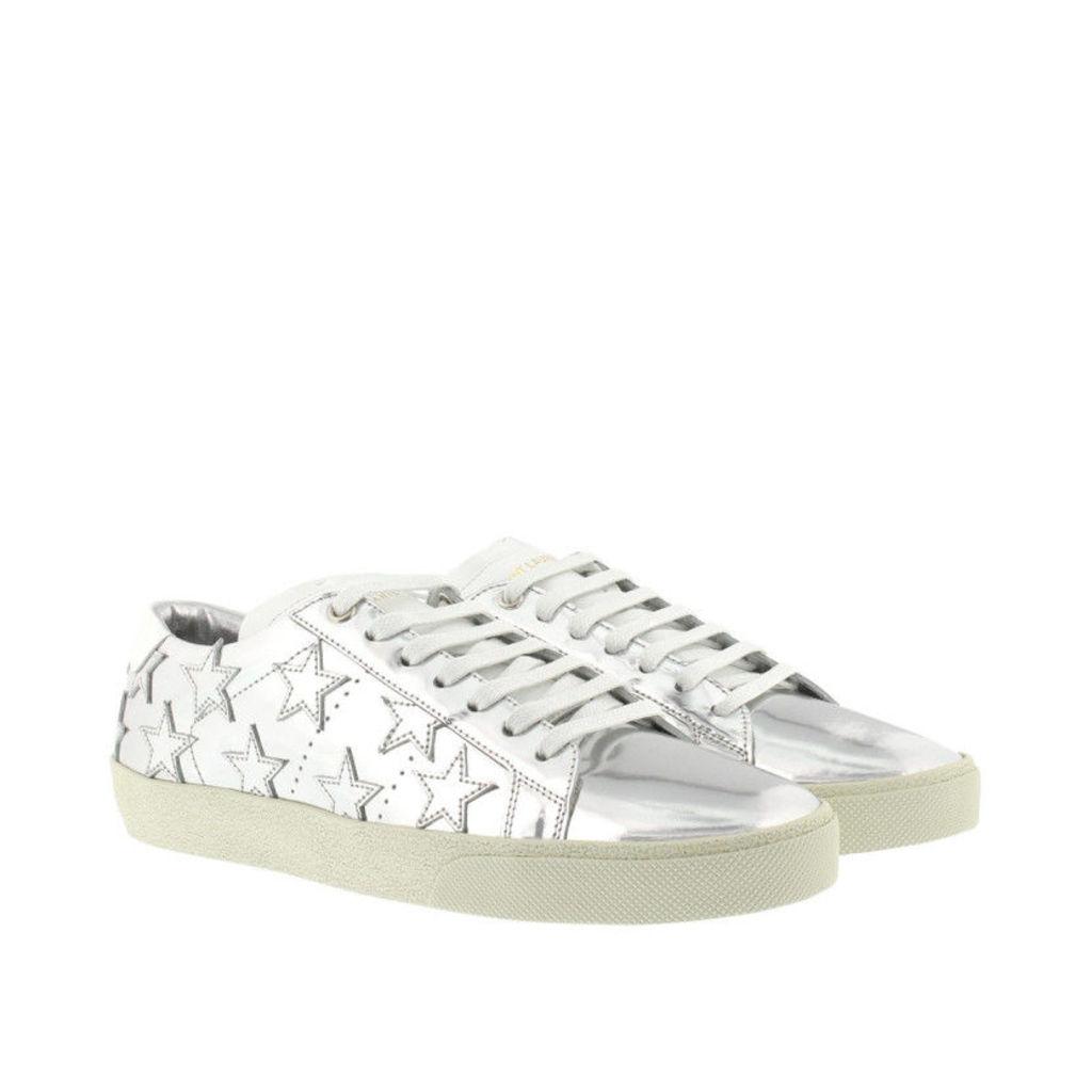 Saint Laurent Sneakers - Star Sneaker Silver - in silver - Sneakers for ladies