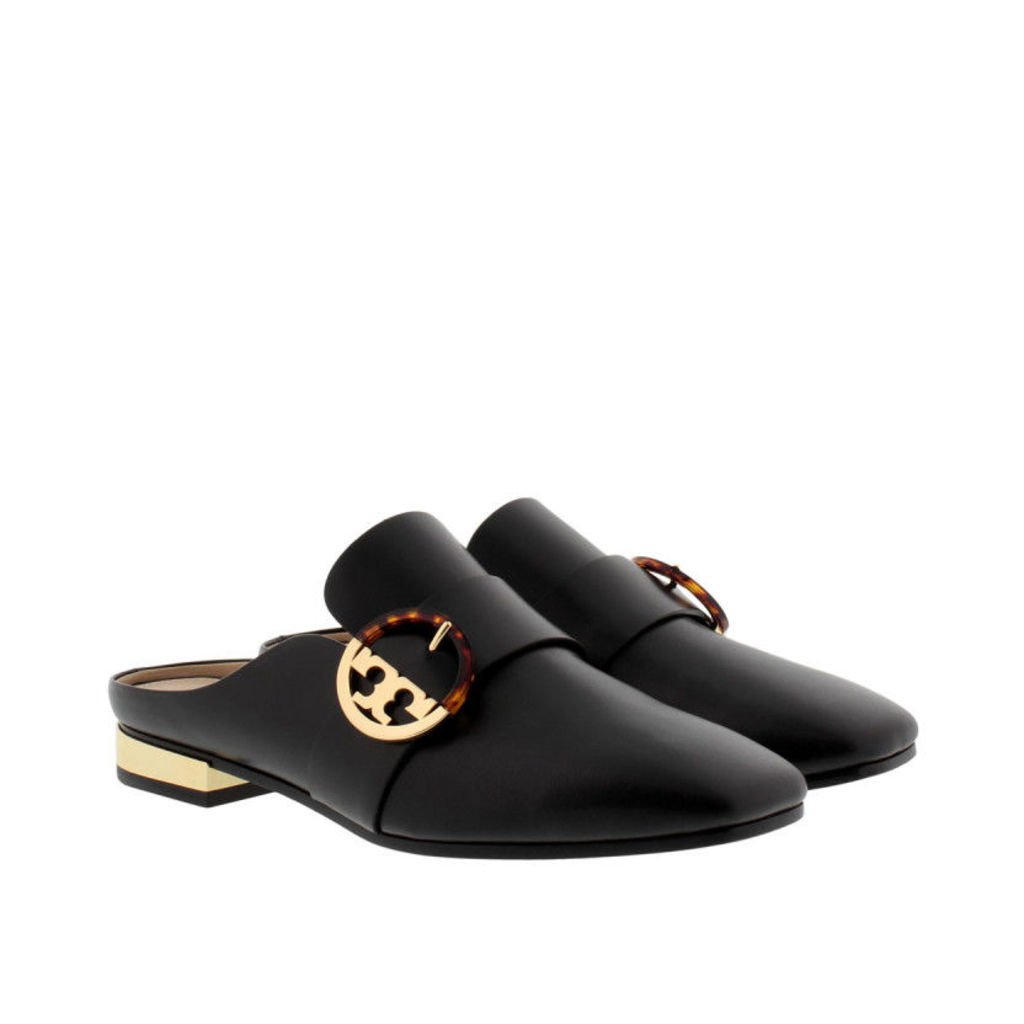 Tory Burch Loafers & Slippers - Sidney Backless Loafer Black - in black - Loafers & Slippers for ladies