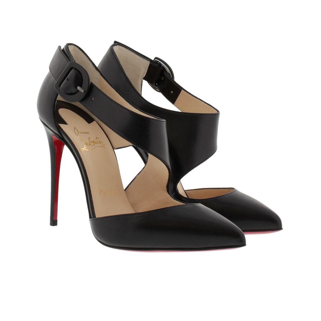 Christian Louboutin Pumps - Pumps Sharpeta 100 Nappa Shiny Black - in black - Pumps for ladies