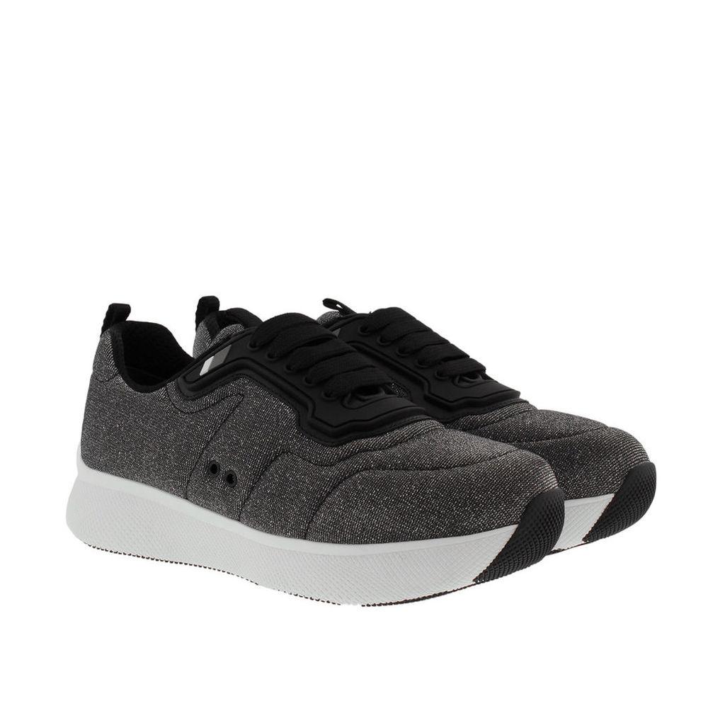 Prada Sneakers - Move Sneaker Argento - in silver, grey - Sneakers for ladies