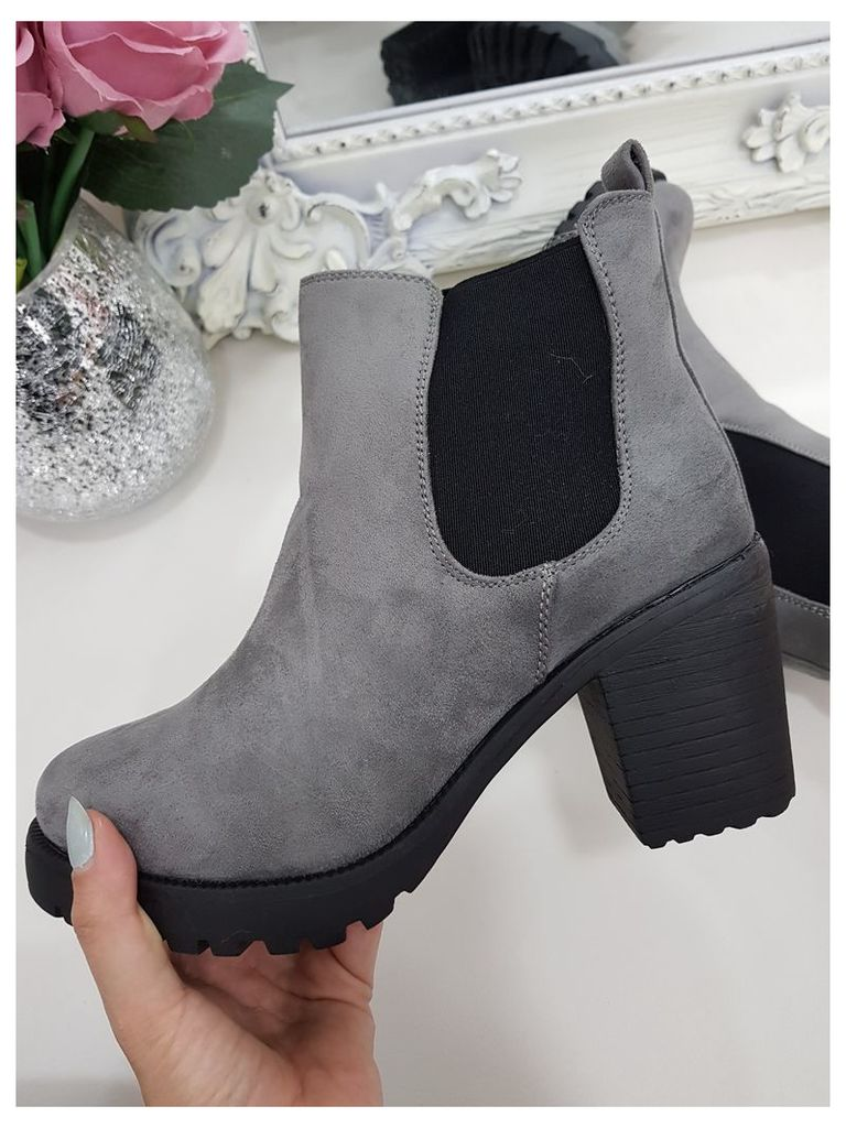 Abby Suedette Chelsea Ankle Boot