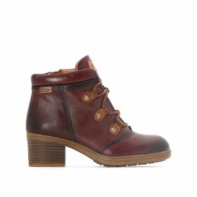 Lyon W6N Leather Ankle Boots