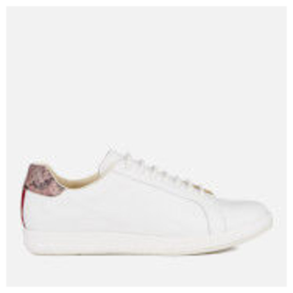 PS by Paul Smith Women's Lapin Star Embossed Trainers - White